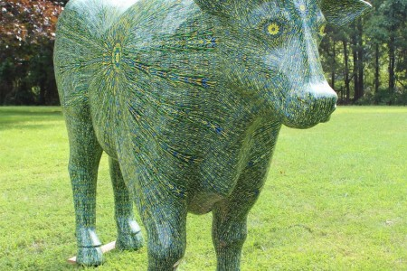 'Ox'tion Gala' at Grounds for Sculpture features first-place 'Think Inside the Ox'