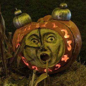 aMAZing Pumpkin Clock