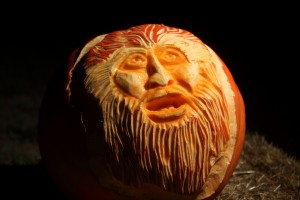 Hopewell Valley Arts Council's aMAZing 2015 Old Man Pumpkin