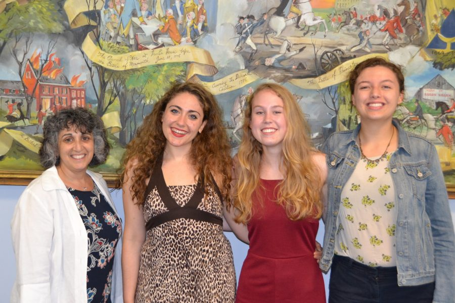 Winners of the 2016 Hopewell Valley Arts Council scholarships