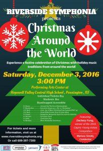 Riverside Symphonia Christmas Concert2016