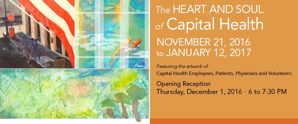 Capital Health Heart and Soul Art Show December 2016