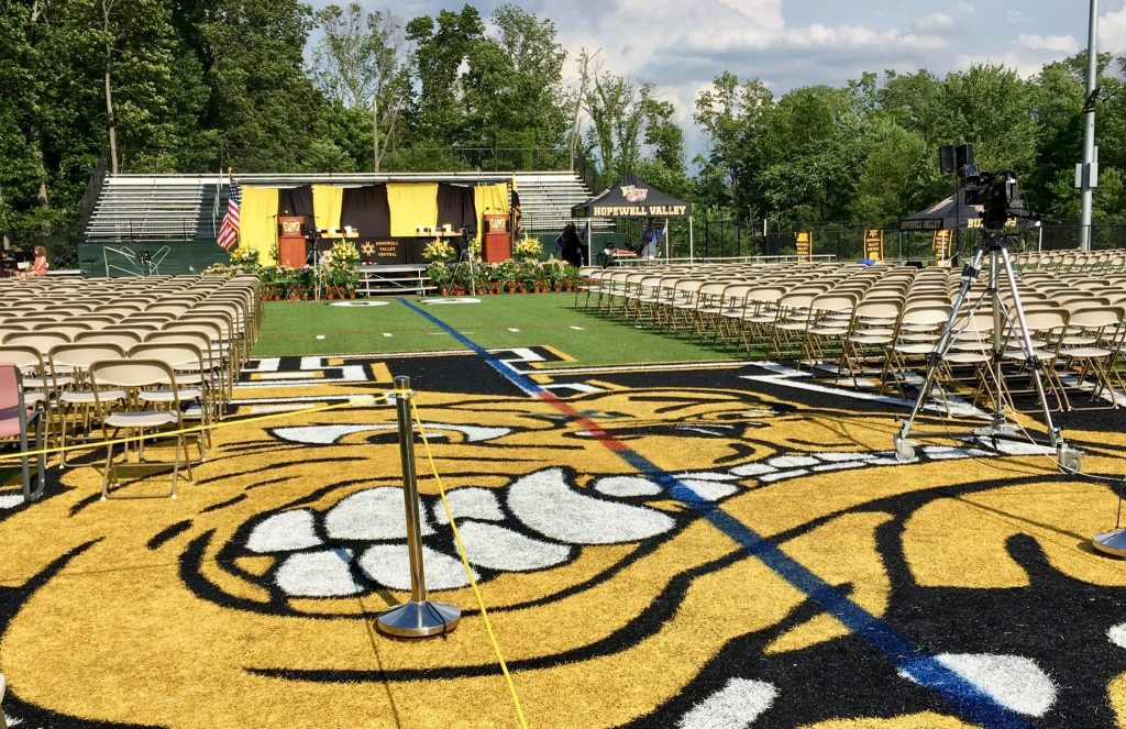 Hopewell Valley Central High School Graduation 2016