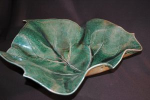 Connie McIndoe Leaf Bowl
