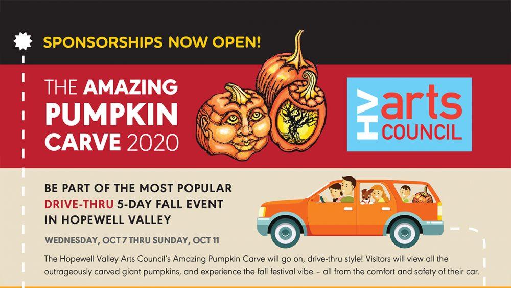HVArts Council 2020 Pumpkin Carve Sponsor