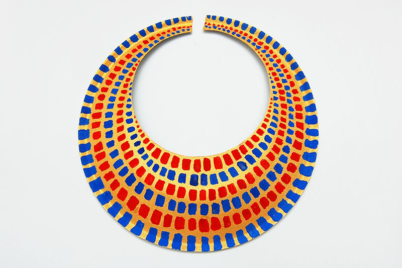Daily Dose of Art: Egyptian Collar Necklace
