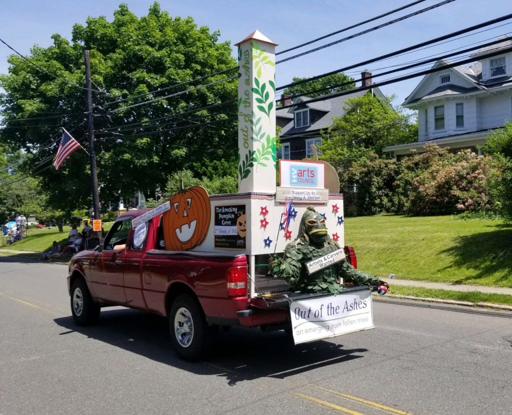 HV Arts Council July 4 Hopewell Borough Parade 2019