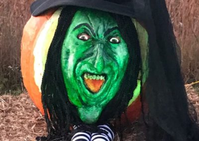 Pumpkin No. 18 Wicked Witch of the West